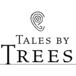 Tales by Trees logo: white background
