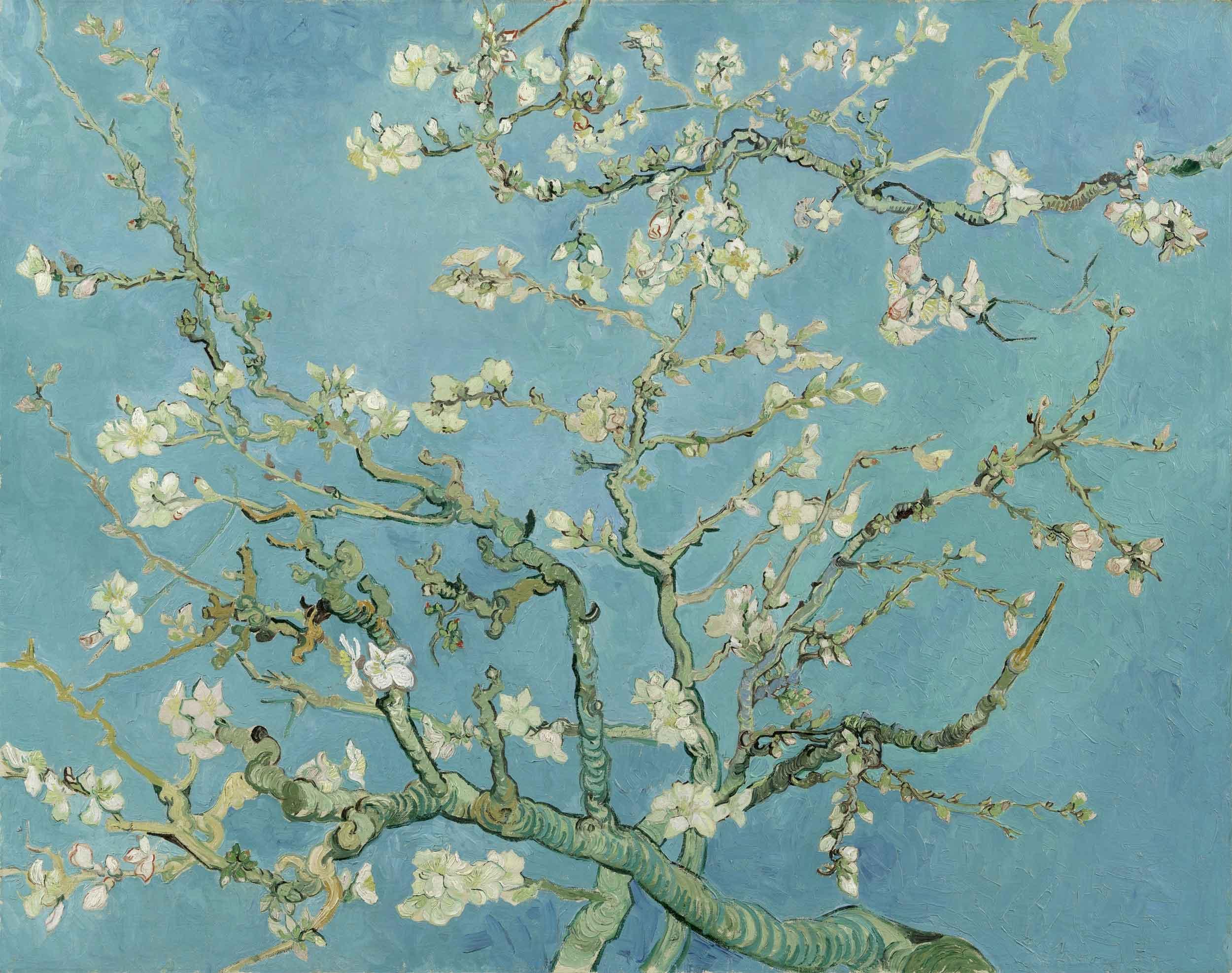 Van goghs blossoming trees tales by trees van goghs blossoming trees mightylinksfo