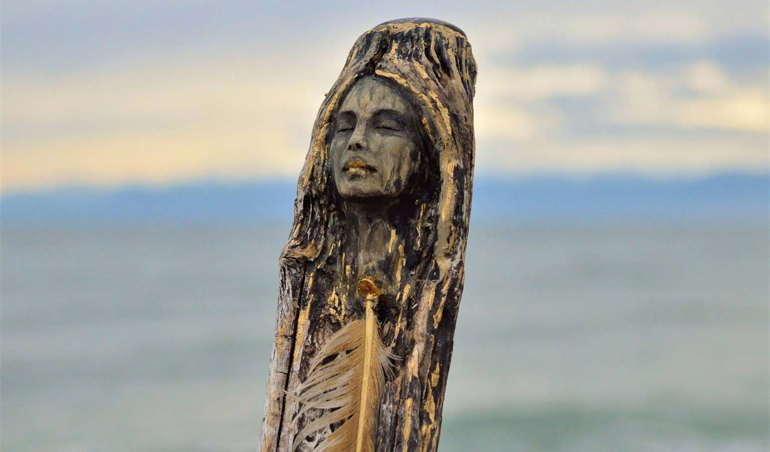 Magnificent Driftwood Sculptures Made from Discarded Wood